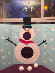 Such fun making this snowman.