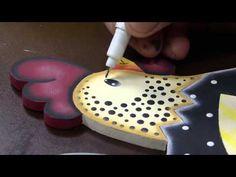 Soraia Leite - Pintura Country - Quadro Espantalho - YouTube