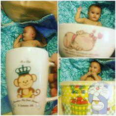 Baby on mug