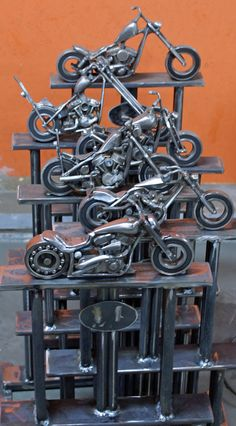 "Obtain fantastic suggestions on ""metal art welded"". They are accessible for you on our internet site. Welding Art Projects, Welding Crafts, Metal Art Projects, Metal Crafts, Recycled Metal Art, Scrap Metal Art, Metal Tree Wall Art, Metal Artwork, Motorcycle Art"