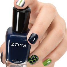 Team Inspired Nail Art!  Zoya Ryan, Tilda, Purity, Trixie