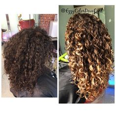 Pintura hair Painting and @olaplex Together create Magic  hair Cut by My Love @donatella_devacurl Style by @paulmartinezhairdept #haircolor #hairpaint #hair #curls #schwarzkopf #highlight #colorist #teamnatural #naturalycurly #instafallow #aloxi #intalikes #instahair #instacolor #love #colorbyezzy #mywork #mydevacurl #dechantaskforce #devachanla #devachancalifornia