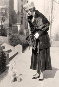 Taken in 1918 by Harris & Ewing.   The photo presents Lagreze, Countess De.