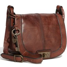 I really want a leather crossbody bag for my birthday.  I'm rather get a used one... they're much cheaper... but this new one looks really good.