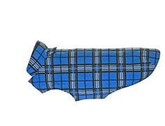RC Pet Products Whistler Winter Wear V.2 Fleece Dog Coat, Size 26, Blue Tartan >>> Details can be found by clicking on the image.