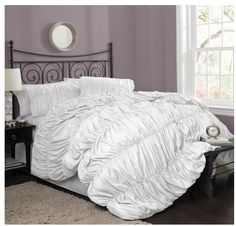 Bedroom On Pinterest Fluffy Bedding Beach Bedrooms And