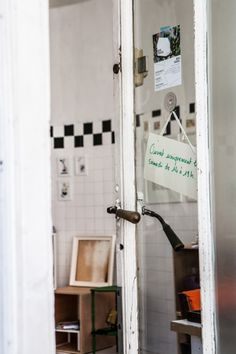 Céline Saby    Designer, Atelier and Apartment, 20ième arrondissement, Paris