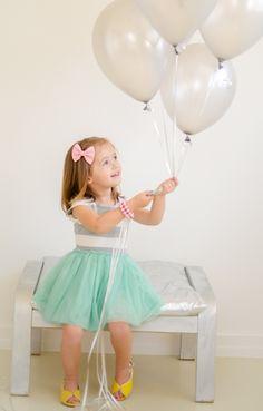Sea Me Twirl Tutu Dress - Aqua | Taylor Joelle Designs Baby and Children's Clothing Boutique