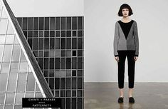 Fashion: Architecture-inspired knitwear from Chinti and Parker plus Patternity