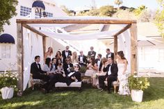 Photography: Max Wanger - maxandfriends.com  Read More: http://www.stylemepretty.com/2014/09/22/elegant-garden-wedding-at-the-grade-school-where-the-couple-met/