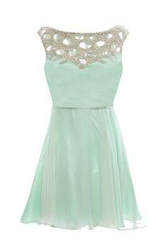 mermaid cocktail dress