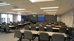 Classroom at STC's Chicago Office