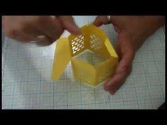 Diy Caixa Sextavada Bee© by Debora Vieira Paper Box Template, Card Templates, Bee, Bees, Filing Cabinets, Box, Scallops, Honey Bees, Card Patterns