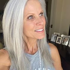 Lynnie V - whitehairwisdom ( Practice Gratitude, Attitude Of Gratitude, Sally Forth, Gray Hair, Hair Inspiration, Bring It On, Profile, Glamour, Photo And Video