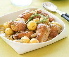 Slow-Cooker Honey-Rosemary Chicken