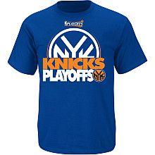 NBA Exclusive Collection New York Knicks Playoffs T-Shirt