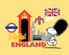 Snoopy in England