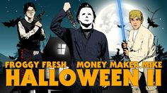 'Halloween II', A Music Video by Froggy Fresh About Froggy Confronting His Fears and Getting Candy