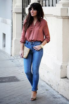 HIGH WAISTED JEANS ~ Walking Around