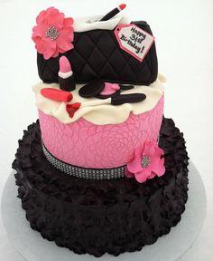 Ruffle Cake by TastyMemoriesCakes