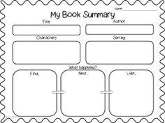 I Love 2 Teach: Literacy Centers {free printable}- Comic
