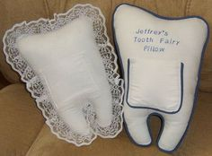 Two Variations of the Tooth Fairy Pillow with a free template to download!