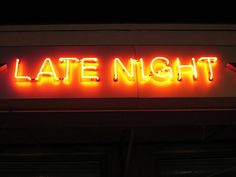Late Night Neon - Photography by Yo-Lynn Hagood, via Flickr