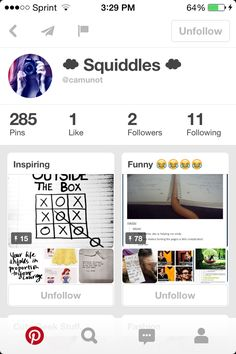 do yourself a favor and follow my friend here. she just got a Pinterest and she deserves a lot of followers... tagged in comments.