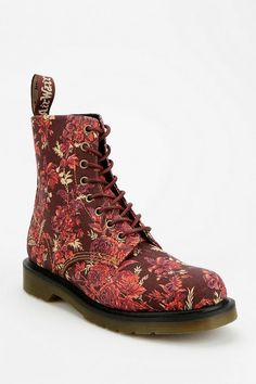 Dr. Martens Beckett Floral Canvas 8-Eye Boot #urbanoutfitters