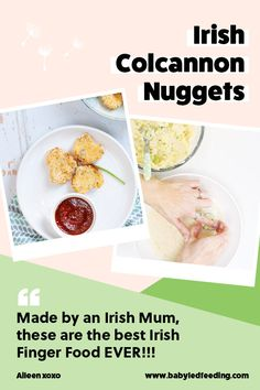 Patrick's Day Recipe- Irish Colcannon Nuggets Created by an Irish Mum! Traditional Irish Colcannon turned into healthy finger food for babies and toddlers. The most AMAZING Irish Finger Food St. Toddler Finger Foods, Healthy Finger Foods, Healthy Meals For Kids, Kids Meals, Toddler Dinners, Toddler Lunches, Healthy Recipes, Mini Appetizers, Healthy Appetizers