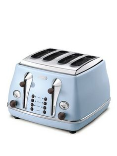 DeLonghi CTOV4003.AZ Vintage Icona 4-Slice Toaster - Blue, http://www.very.co.uk/delonghi-ctov4003az-vintage-icona-4-slice-toaster---blue/1183722566.prd