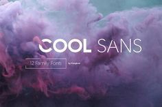 Cool Sans 12 Family Fonts by Kongkow on @creativemarket