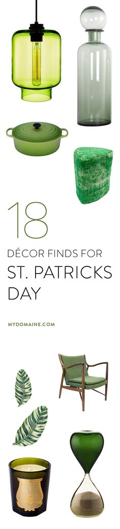 Green décor finds for St. Patrick's Day