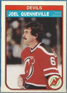 O-Pee-Chee Joel Quenneville, New Jersey Devils, Hockey Cards That Never… Blackhawks Hockey, Chicago Blackhawks, Hockey Games, Ice Hockey, Der Club, Hockey Boards, Nhl Players, New Jersey Devils, National Hockey League
