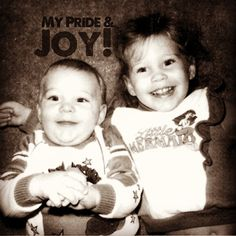 """""""Joy! These two fill my heart to bursting. Always have. #rethinkchurch #lent"""""""