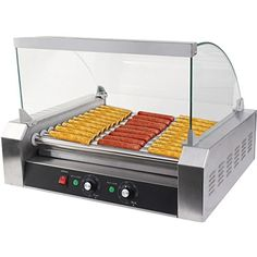 Buy Safstar 11 Roller 30 Hot Dog Grill Machine Commercial Hotdog Cooker Maker Machine with Cover Rollers) Grill Machine, Roller Design, Dog Food Online, Small Kitchen Appliances, Kitchen Small, House Appliances, Kitchen Stuff, Country Kitchen, Hamburgers