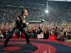Bono Vox Live Concert U2