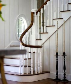 This staircase is divine! #design #staircase #millwork