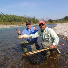Good catch @ Three Bars Ranch, British Columbia, Canada