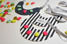 Dress-Up Necklace (Stripe) | Accessories | two els