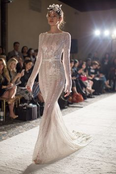 Mira Zwillinger / Bridal Gowns / Sleek silhouettes / View more: http://thelane.com/the-lane/mira-zwillinger/wedding-gowns