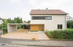 Haus PerfahlLeibfried Straßenansicht Vorher - Umbau Haus Leibfried in Kirchheim u.T.