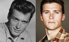 Clint Eastwood and Scott Eastwood  @Jensen Hackett   @Whitney Hackett