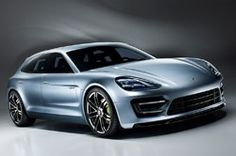 Porsche Panamera Sport Turismo Concept - front three-quarter view