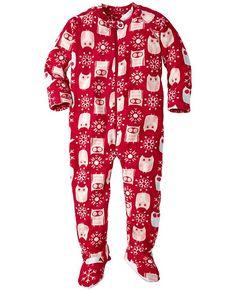 Snugglesuit Jammies With Feet from #HannaAndersson.