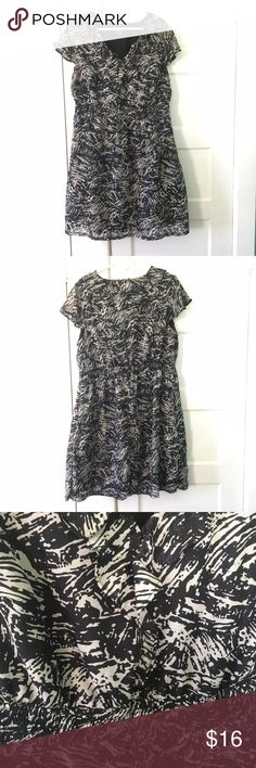 Merona Plus Dress Merona Plus size dress. GUC. This is a great v-neck dress with an elastic waist. Has pockets! There is some pilling on the sides. Merona Dresses