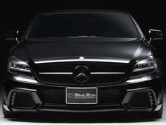 Wald Creates a Murdered Out 2012 Mercedes CLS 63 AMG