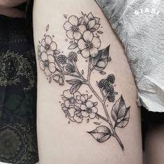 New guest artist is coming to in June. Custom Tattoo, Tattoo Artists, June, Dots, Tattoos, Floral, Florals, Irezumi, Tattoo