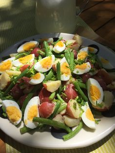 Celebrate Memorial Day by sharing a delicious new recipe for Potato, Green Bean and Egg Salad  http://www.nourishforlife.com/recipes/2017/5/21/potato-green-bean-and-egg-salad