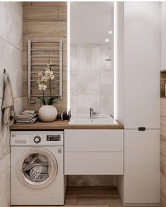 Great Bathroom Decor And Design - Top Style Decor Laundry Room Design, Bathroom Layout, Modern Bathroom Design, Bathroom Interior Design, Interior Design Living Room, Contemporary Bathrooms, Bath Design, Bathroom Designs, Narrow Bathroom